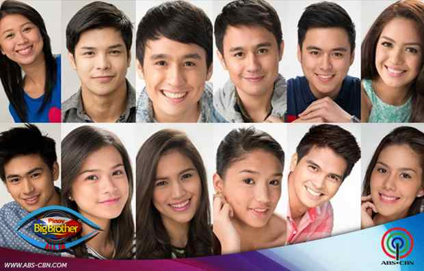 pinoy big brother all in housemates pictures