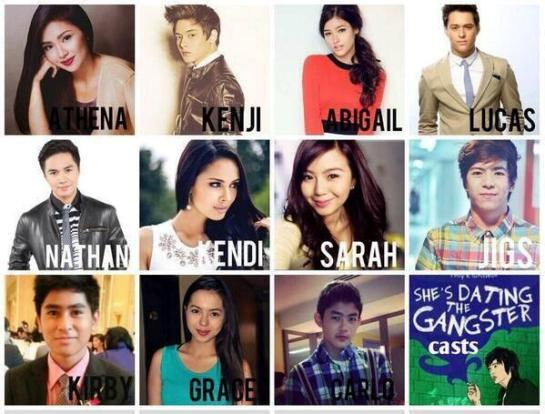 shes dating the gangster lead cast pictures