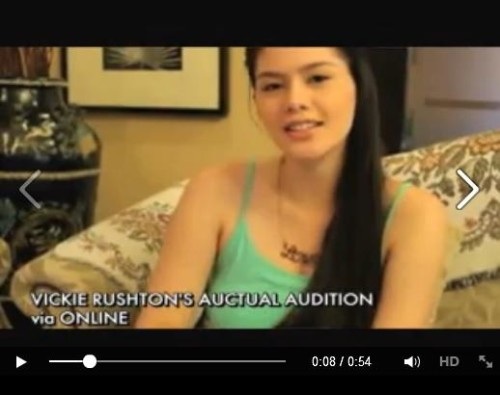 vickie rushton pbb actual audition video