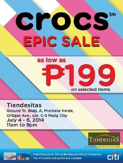 crocs epic sale tiendesitas