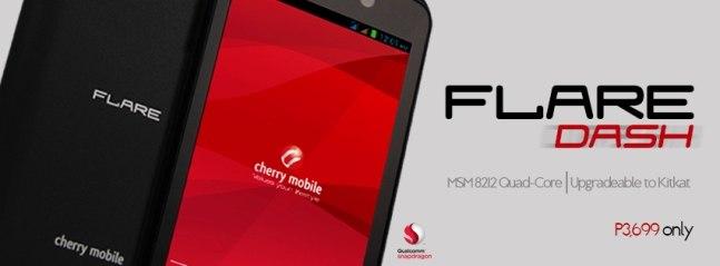 cherry mobile flare dash
