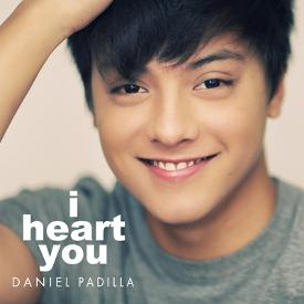 daniel padilla I Heart You cover