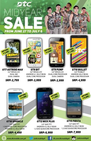 dtc mobile midyear sale 2014