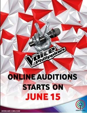 the voice philippines season 2 online audition