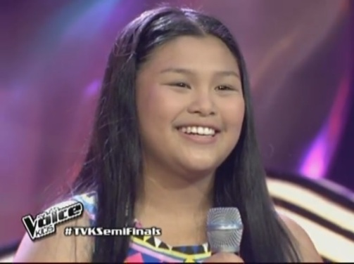 edray teodoro sings beautiful in TVK semi finals