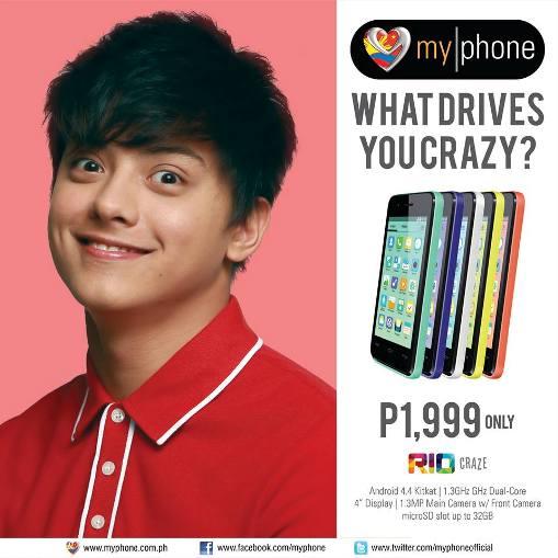 myphone rio craze price