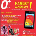 Win an O+ Plus Fab Every Monday in the Philippines