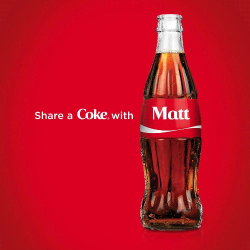 share a coke with mattscradle