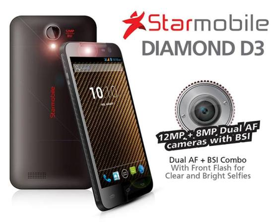starmobile diamond d3