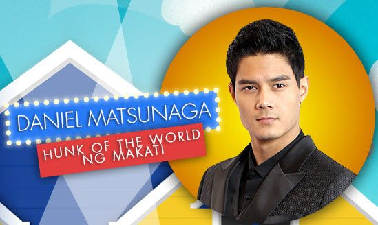 Daniel Matsunaga hunk of the world ng makati
