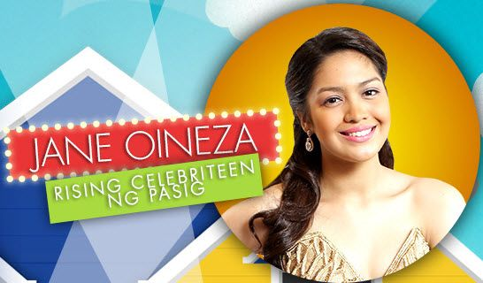 Jane Oineza rising celebriteen ng pasig