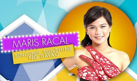 Singing Sunshine ng Davao Maris Racal