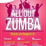 Free Zumba Classes in Araneta Center, Philippines