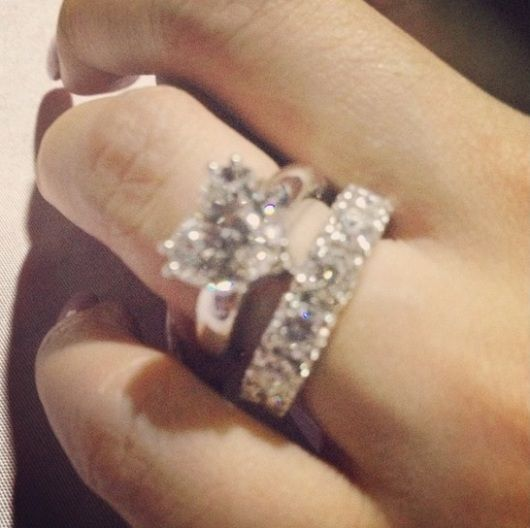 heart evangelista engagement ring