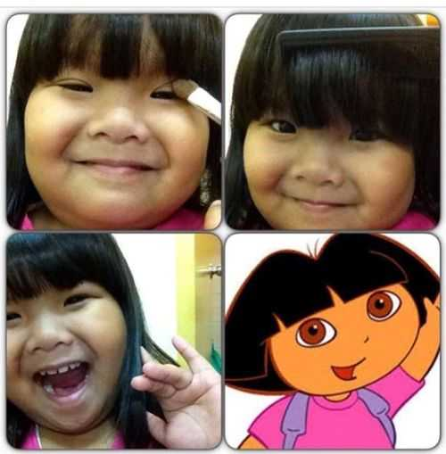 Ryzza Mae Dizon as Dora the Explorer