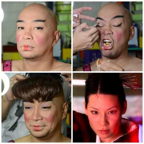 wally bayola makeup