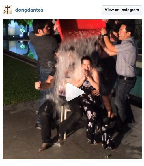 marian rivera dingdong dantes ice bucket challenge