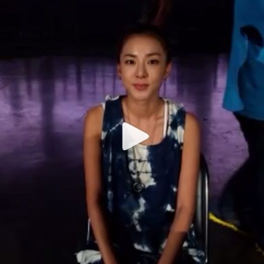 sandara park ice bucket challenge video
