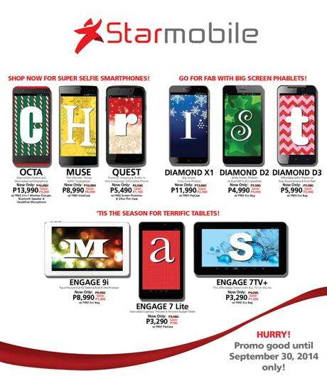 starmobile Early Christmas Sale 2014