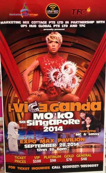 vice ganda mo ko singapore ticket price