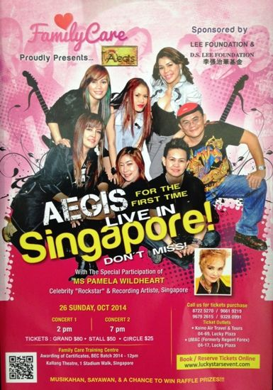 aegis live in singapore october 2014
