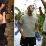 ABS-CBN Chairman Gaby Lopez and CEO Charo Santos-Concio Do The ALS Ice Bucket Challenge