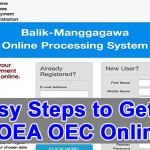 16 Easy Steps to Get POEA OEC Online, Requirements, Philippines