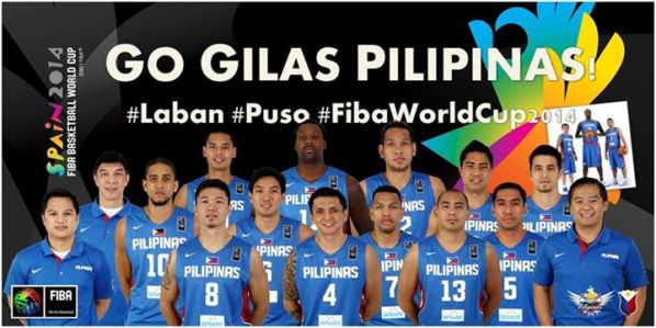 gilas pilipinas 2014 team roster