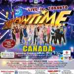 Its Showtime Live in Toronto, Edmonton Canada Ticket Price, Venue