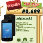 Cherry Mobile Granite Price P2699, TV Phone, Unboxing Video