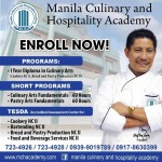 Tesda Culinary Arts Accredited Schools in the Philippines 2016