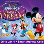 Disney On Ice Philippines Dare to Dream December 2014, Schedule, Ticket Price