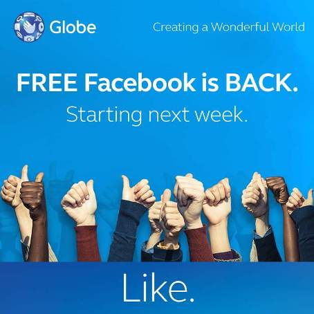 globe unli fb