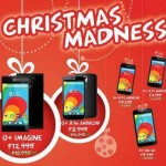 O+ Phones Christmas Madness Sale Price List 2014 and Specs