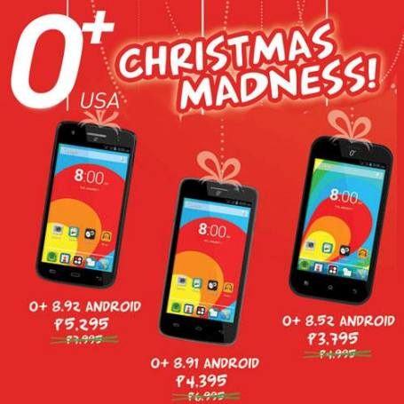 o+ christmas madness