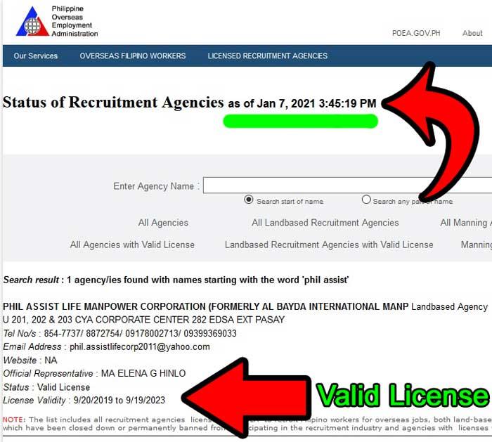 phil-assist-life-manpower-poea-license-2021