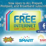 Smart Free 30MB Internet Plus Unli FB is extended until January 5,2015