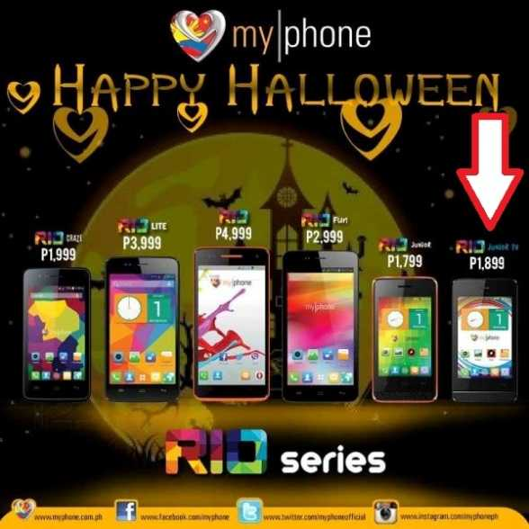 myphone rio price list november 2014