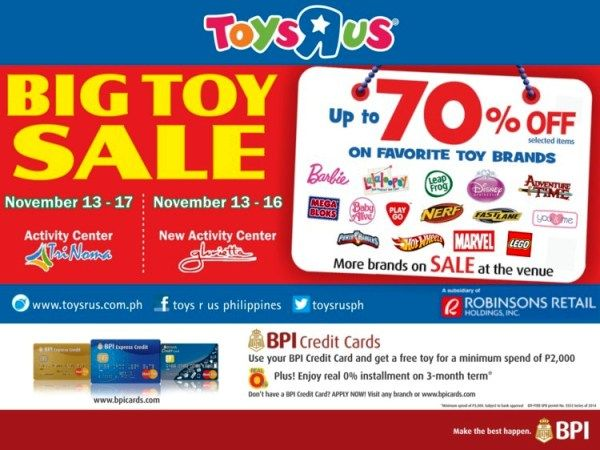 toys r us big toy sale philippines