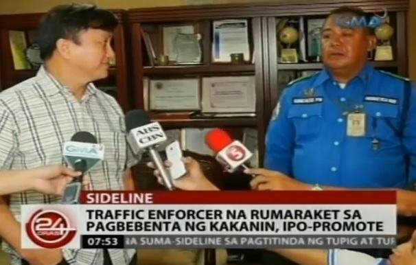 traffic enforcer fernando gonzalez promoted