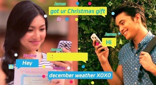 Text Me Merry Christmas.Jadine Sings Text Me Merry Christmas For Smart Communications