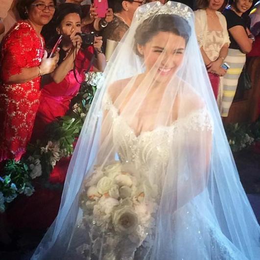 Watch Marian Rivera Walks Down The Aisle Video Dongyan Wedding