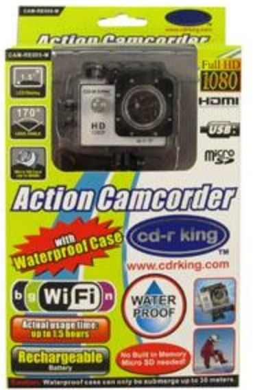 cdr king gopro camcorder