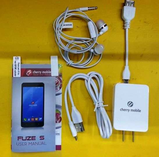 cherry mobile fuze s package