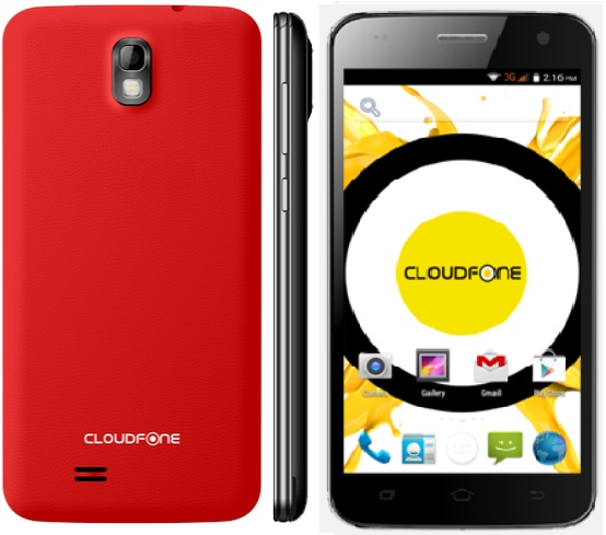 cloudfone excite 501o price