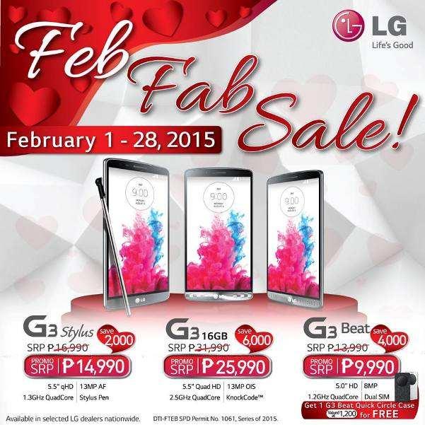lg g3 february 2015 fab sale