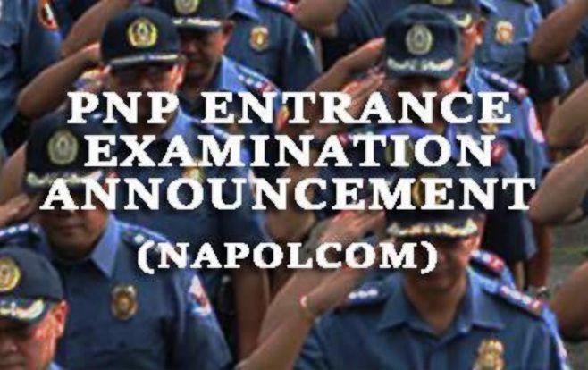 pnp entrance exam napolcom