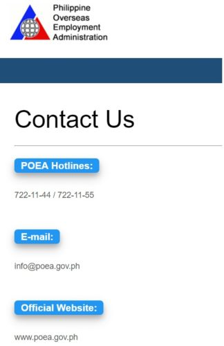 POEA: New Zealand is a No Placement Fee Country