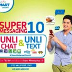 Smart Prepaid Super Messaging 10 Allows Unli Chat and Text for One Day
