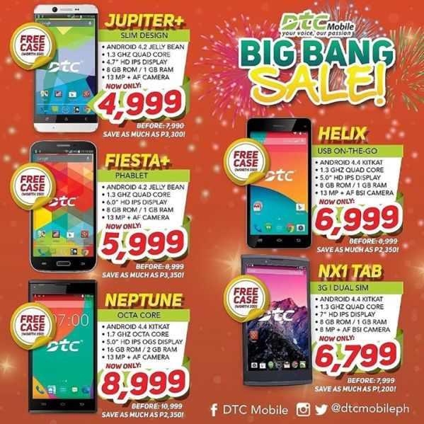 dtc mobile big bang sale